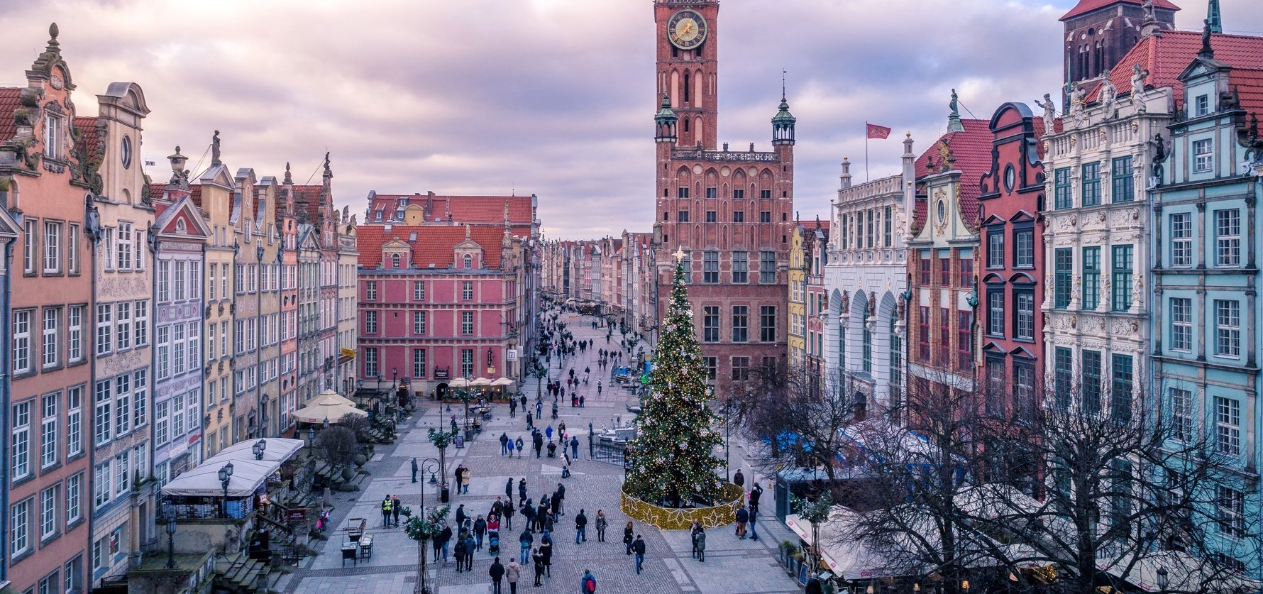 Gdańsk at Christmas, Photo by Aleksander