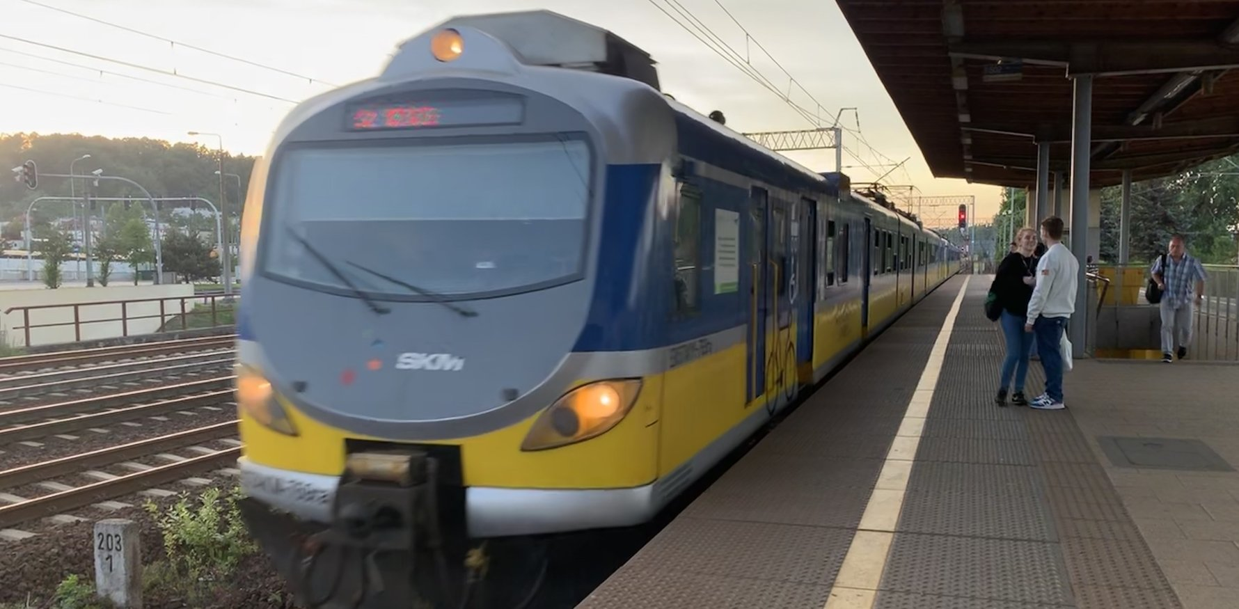 SKM Commuter Train, Gdańsk