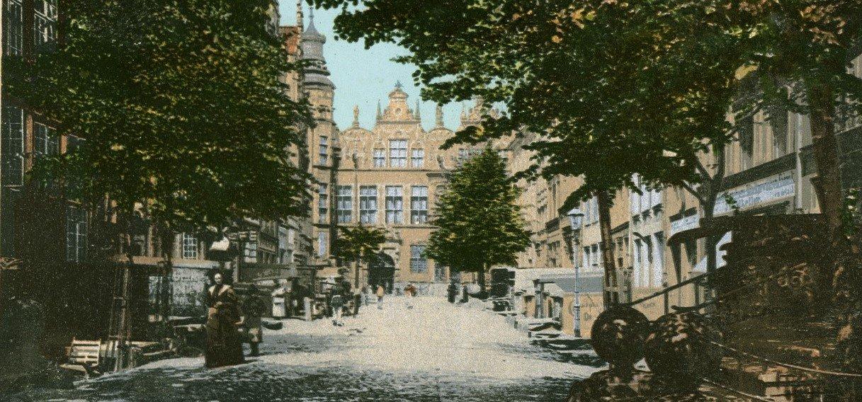 Jopengasse Street, Danzig (now Ulica Piwna, Gdańsk)