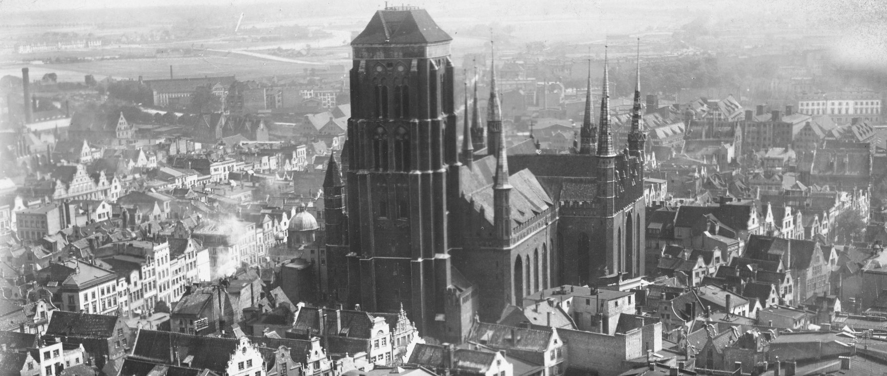 Marienkirche in Danzig (St. Mary's Church, Gdańsk), 1920