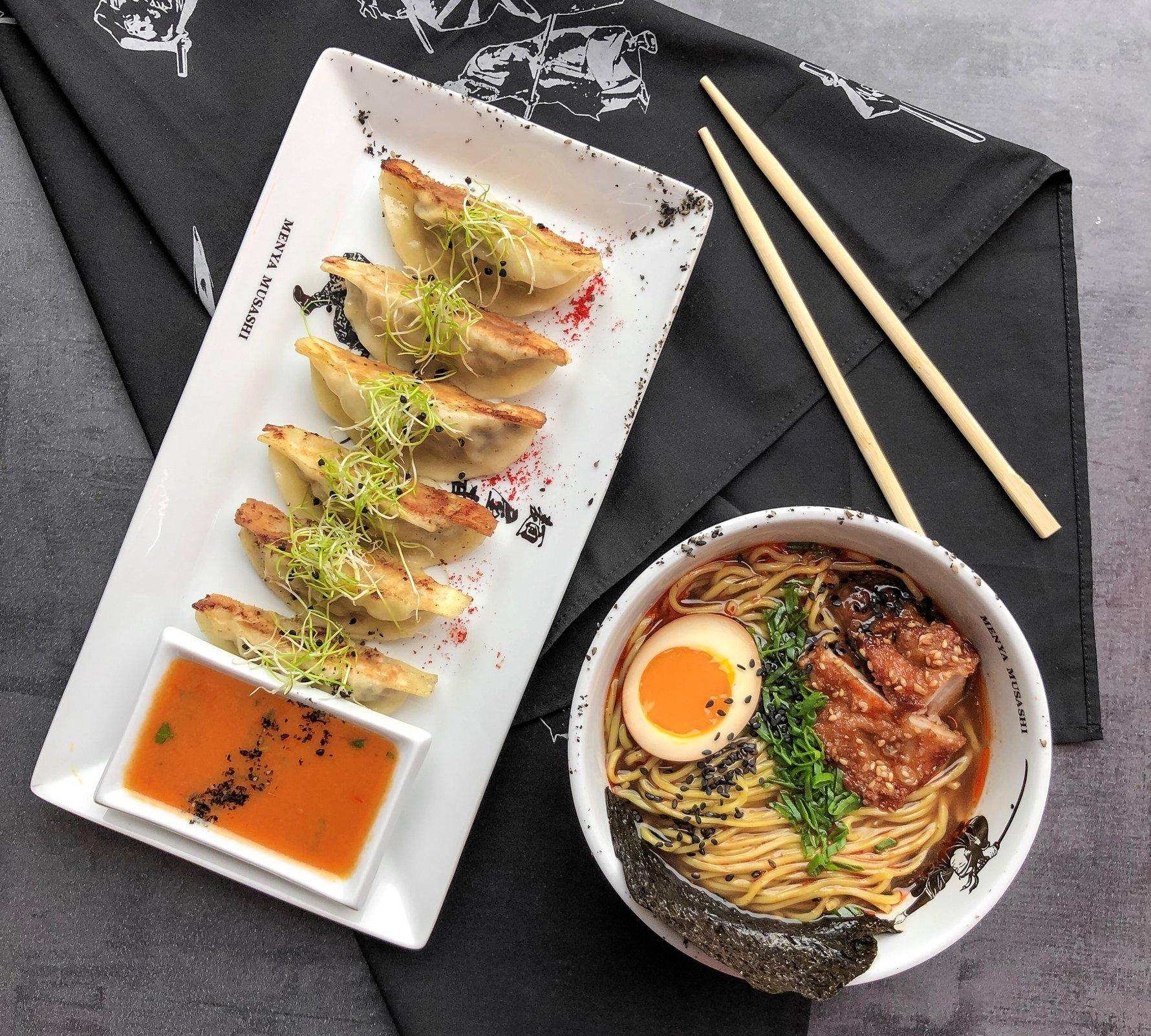 Menya Musashi Gdańsk, Japanese Restaurant