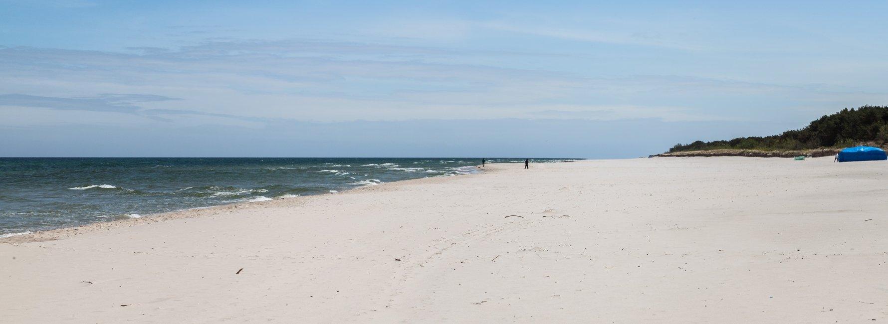 Jurata Beach, Hel Peninsula, Pomerania