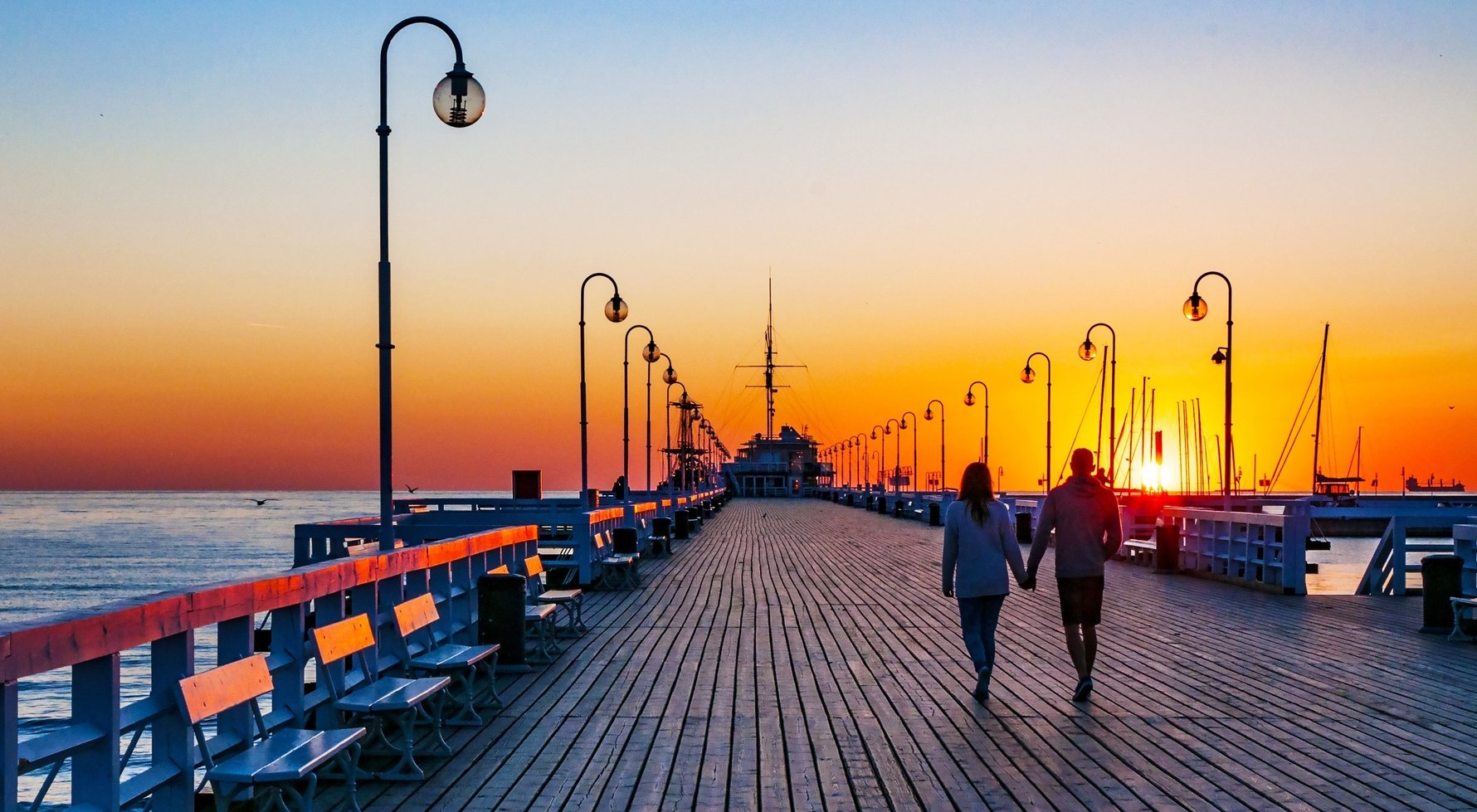 Sopot Pier at Dawn. Photo by Kilhan