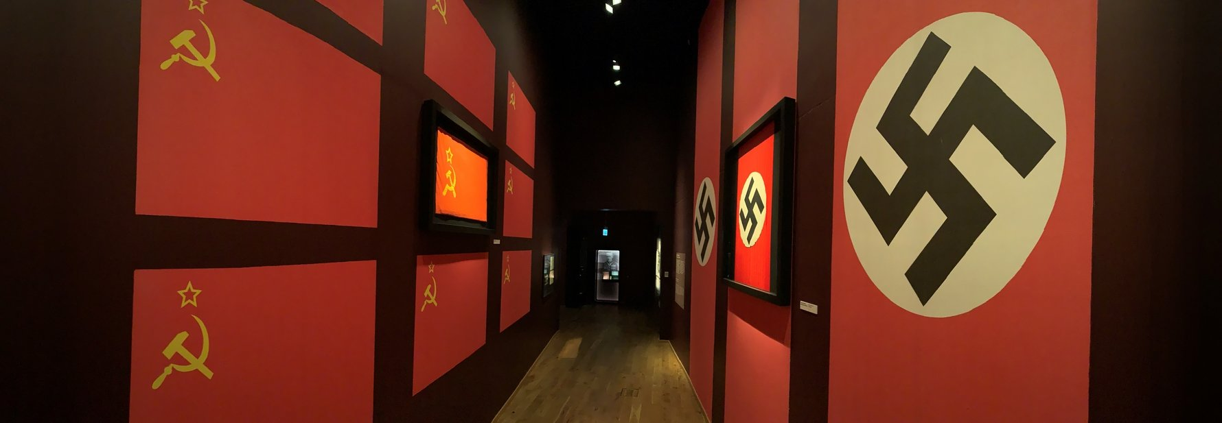 WWII Museum - Communism Against Nazism