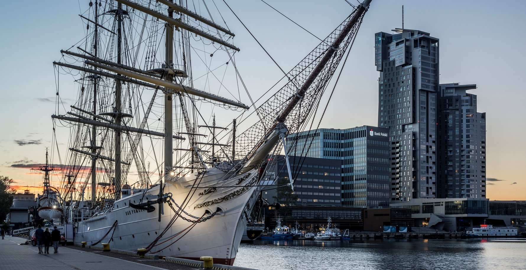 Dar Pomorze in Gdynia