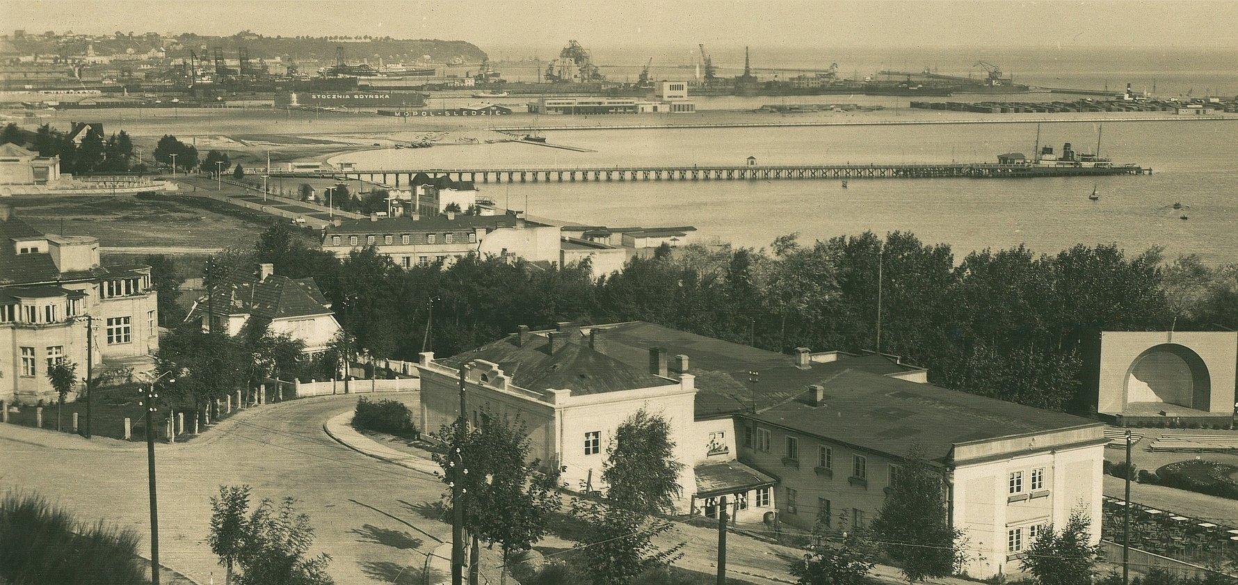 Gdynia, View from Kamienna Gora, 1932, Photo Credit: Fotopolska.pl