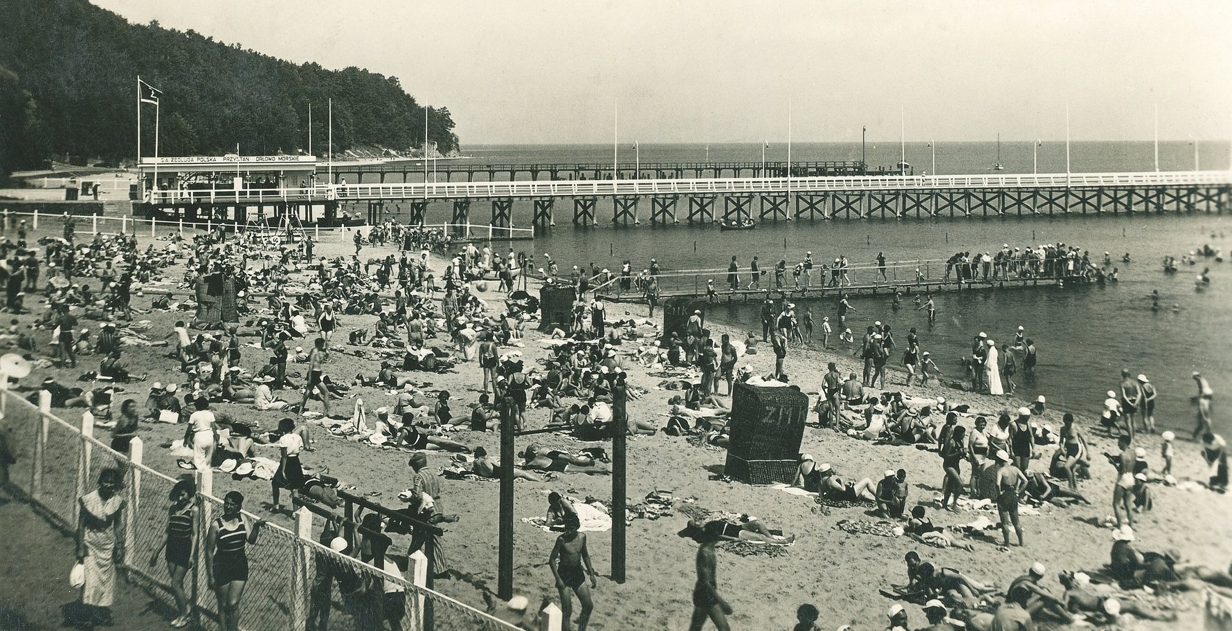 Orłowo Beach, 1938