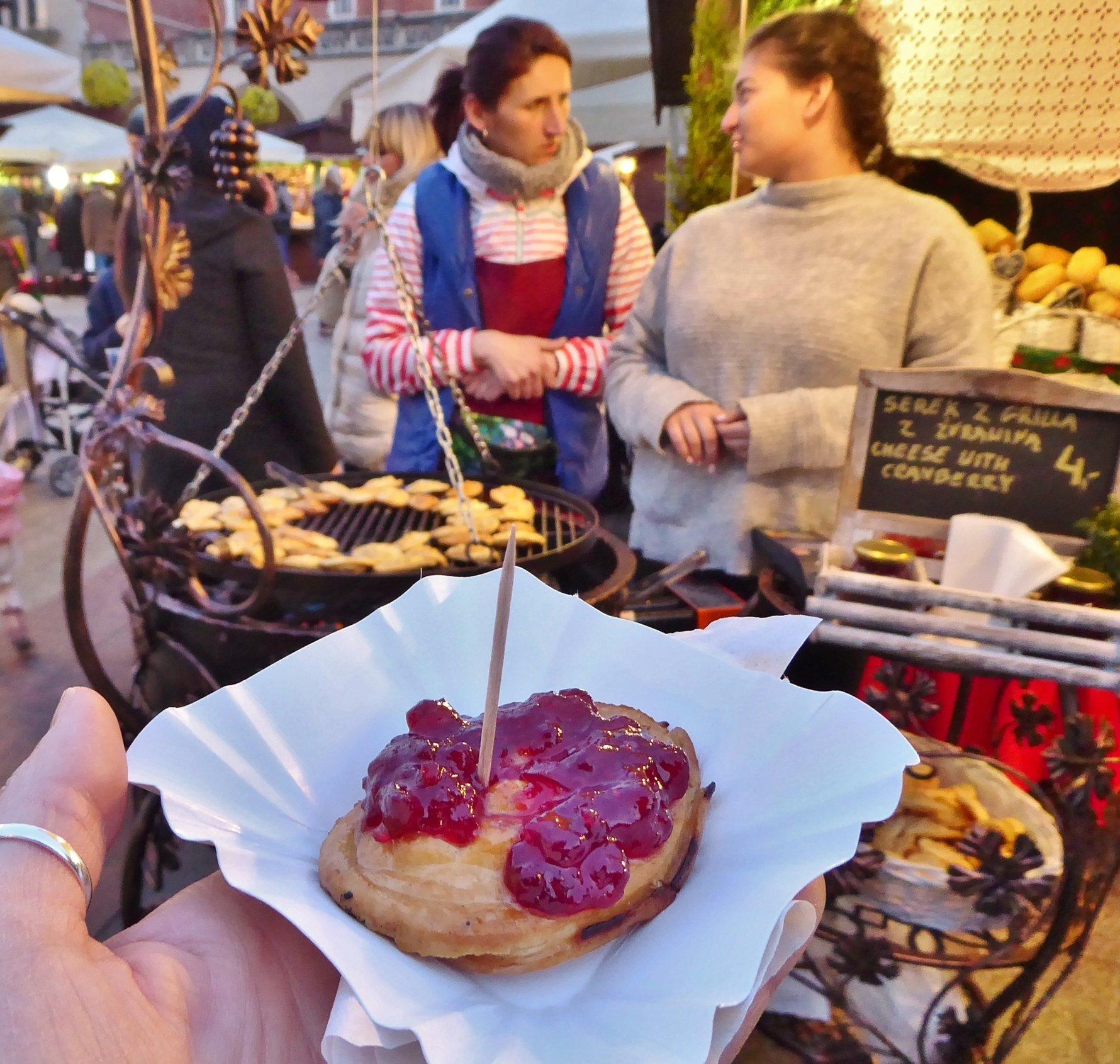 krakow essential eats: oscypek