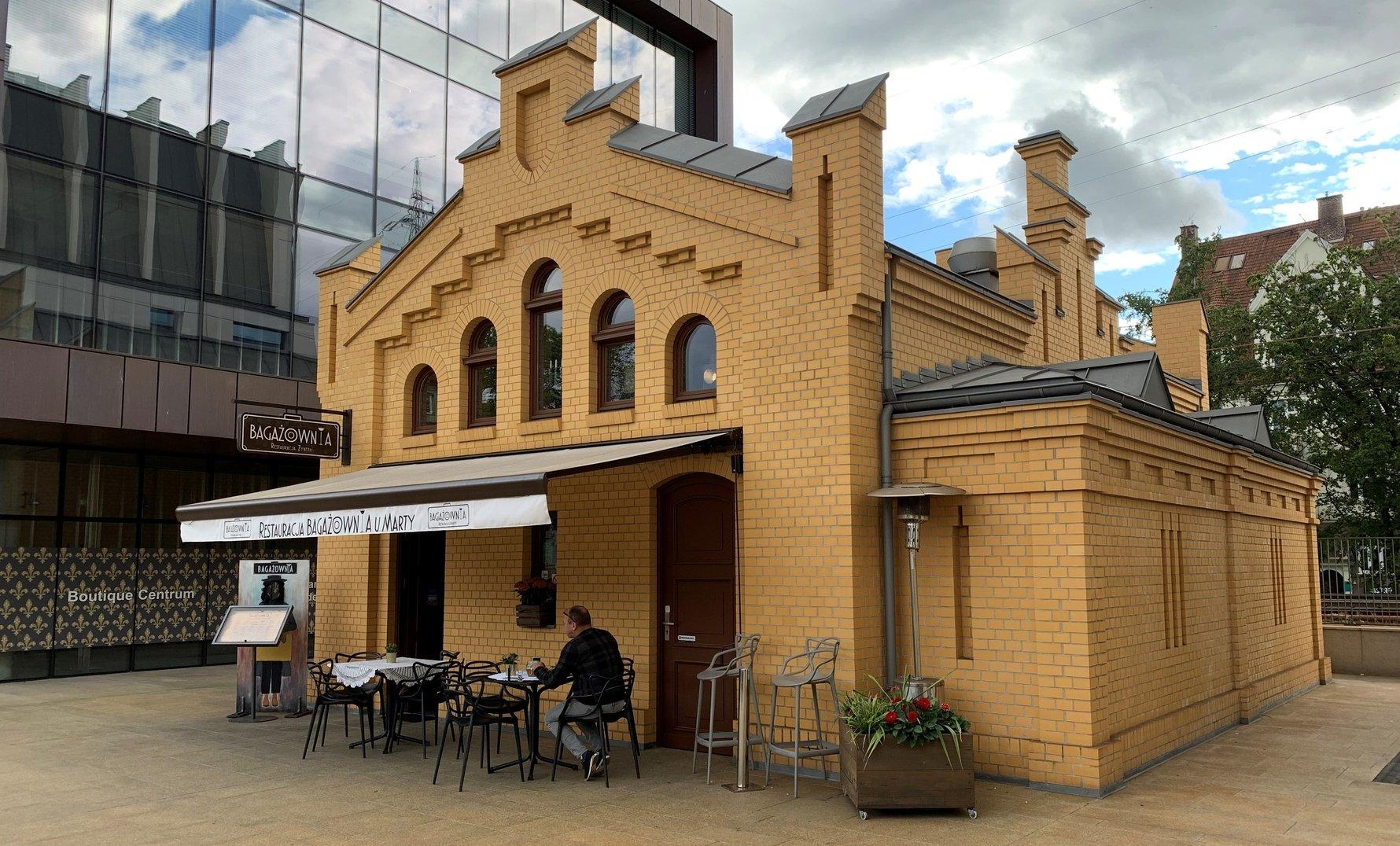 Bagażownia, Jewish Restaurant, Sopot
