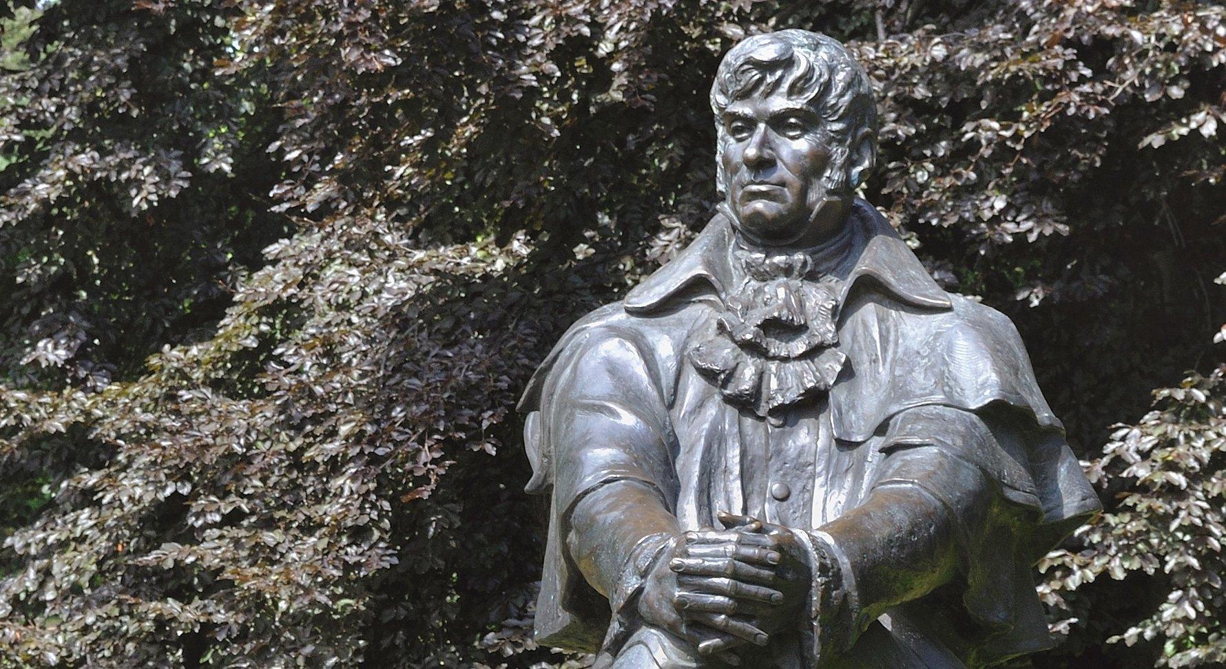 Statue of Jean Georges Haffner. Photo by DerHexer