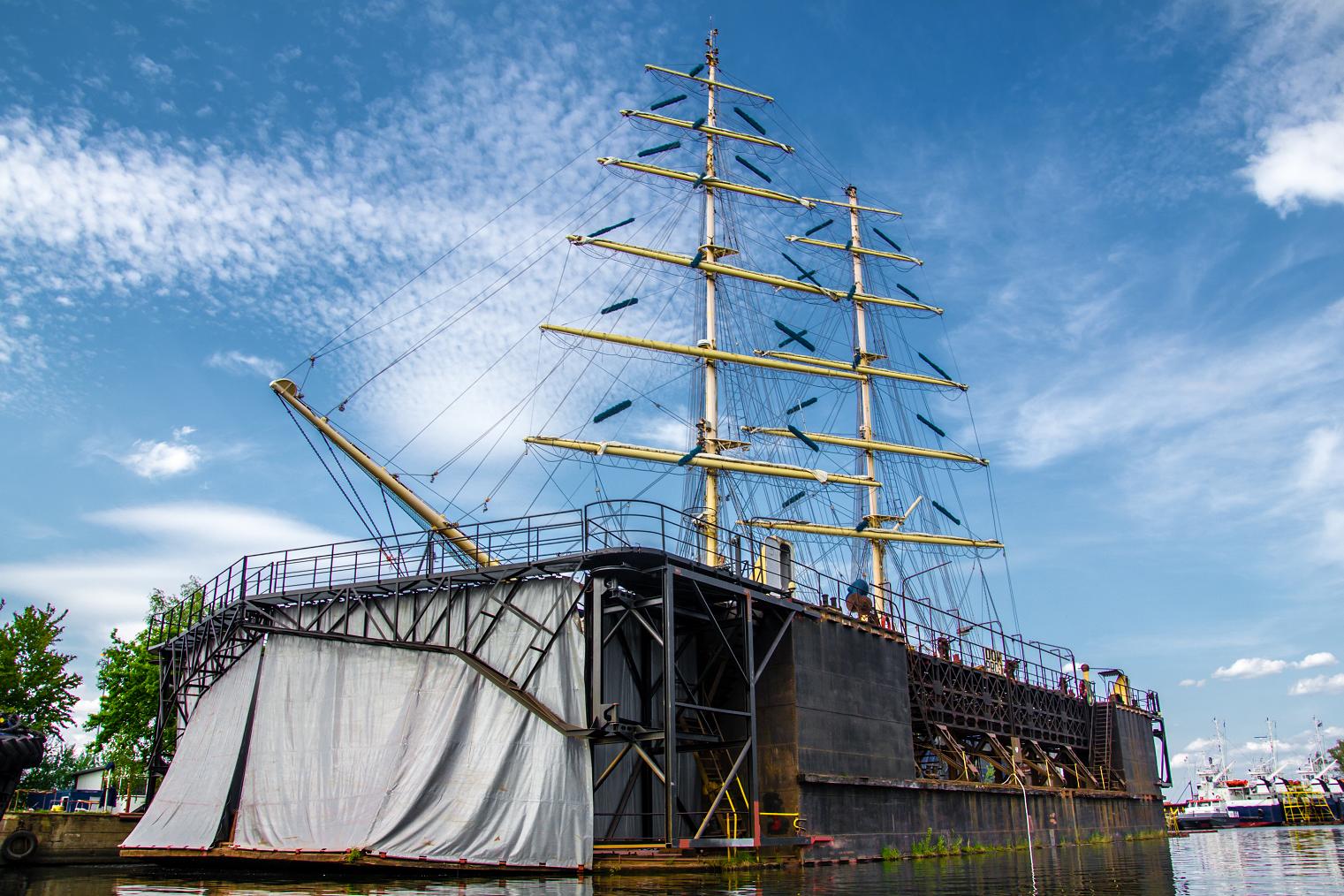 The Oldest Floating Dock in Europe is in Szczecin! Photo by Szymon Maksymiuk