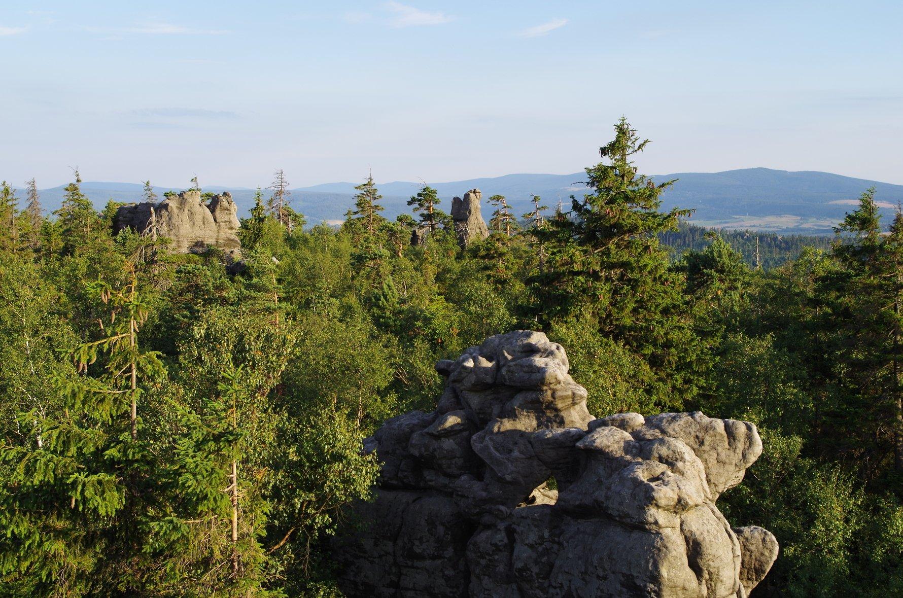 Szczeliniec. Photo by Longjoe