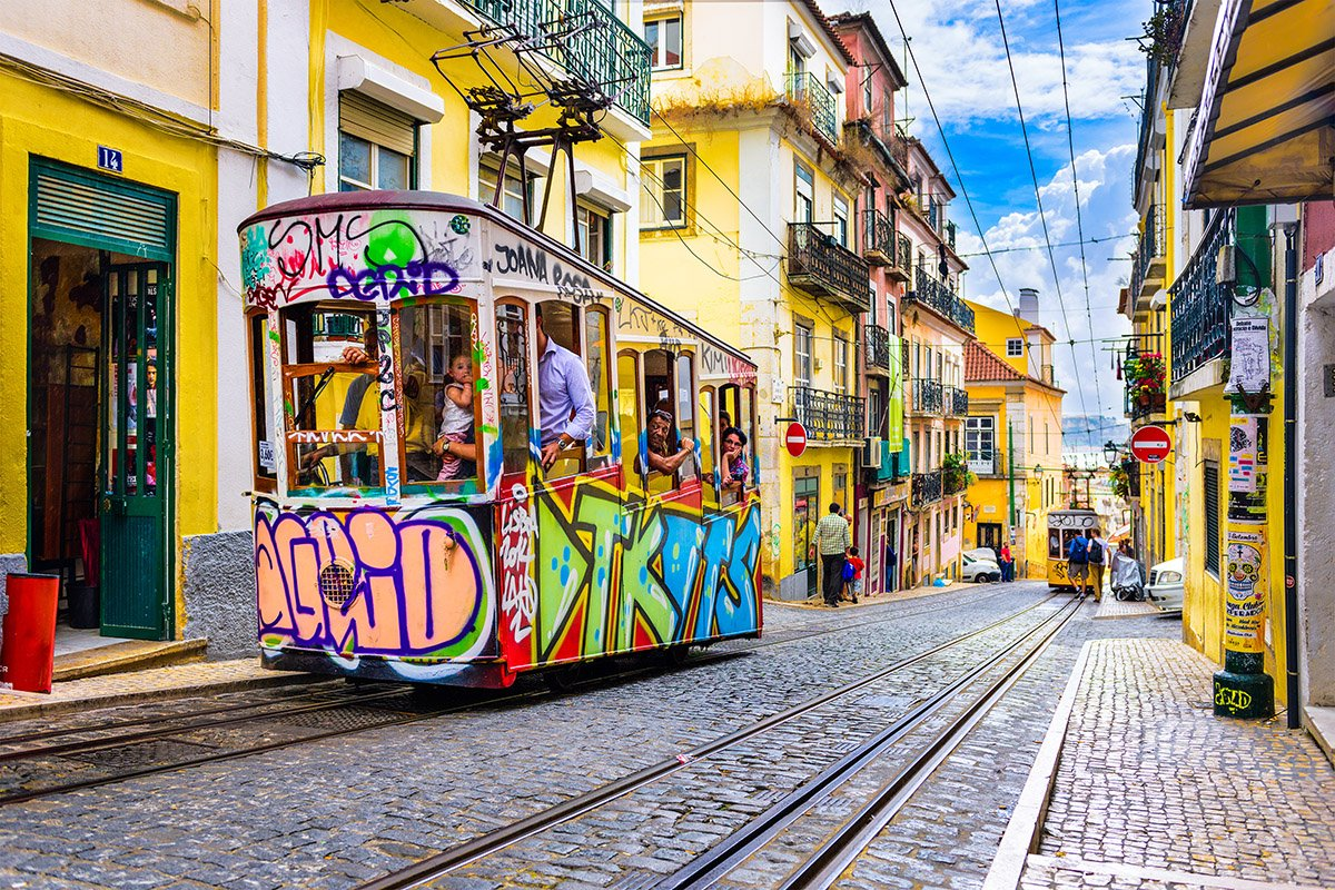 Trams in Lisbon, Barrio Alto