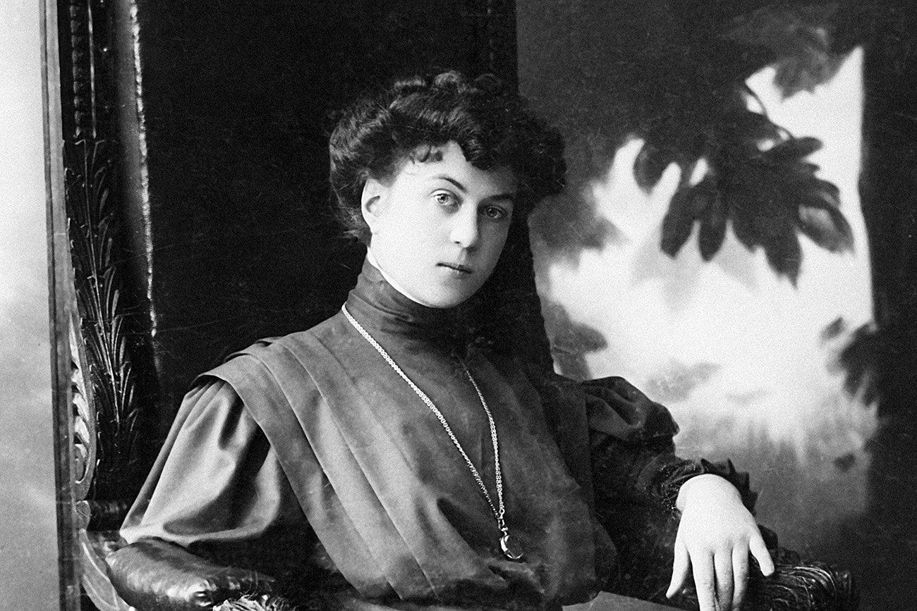 Famous Russian Women, Alexandra Kollontai © Public Domain