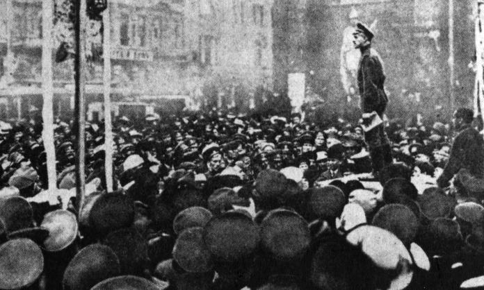 Russian Revolution Attractions in Moscow- russian-revolution-1917