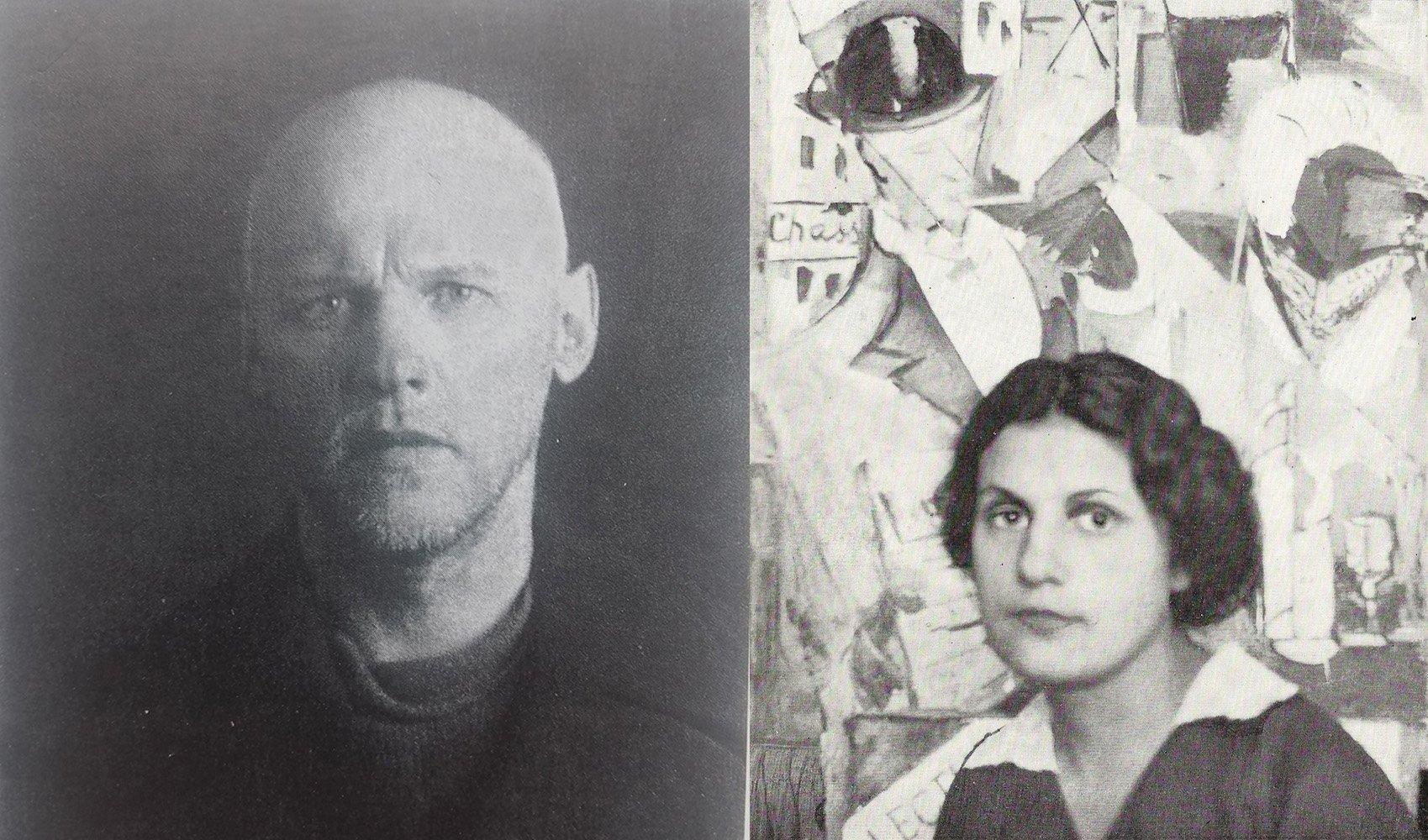 Russian Art - Alexander Drevin &Nadezhda Udaltsova