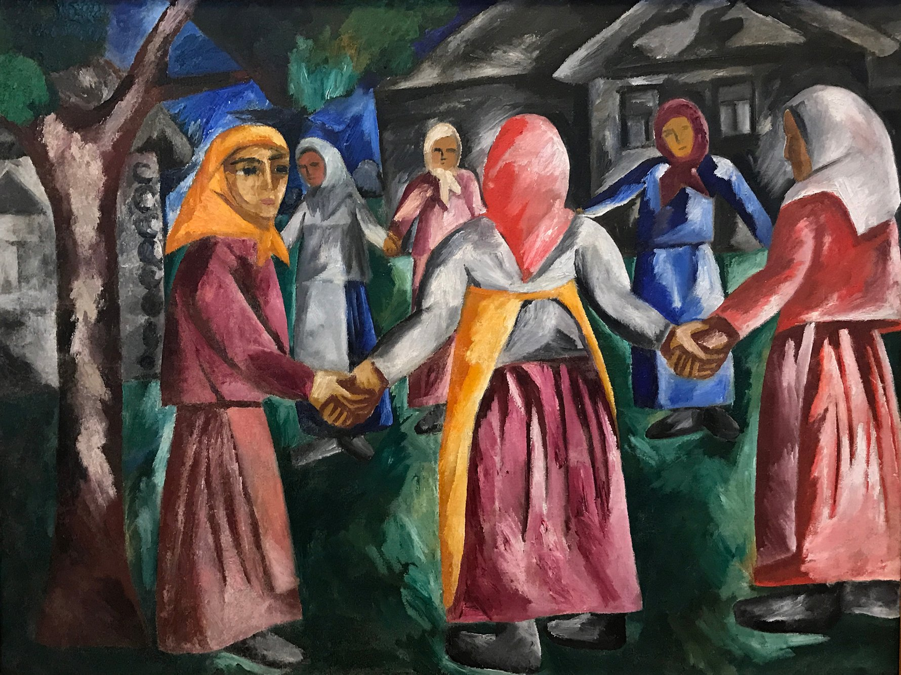 Russian Art - Natalia Goncharova, Untitled 1910