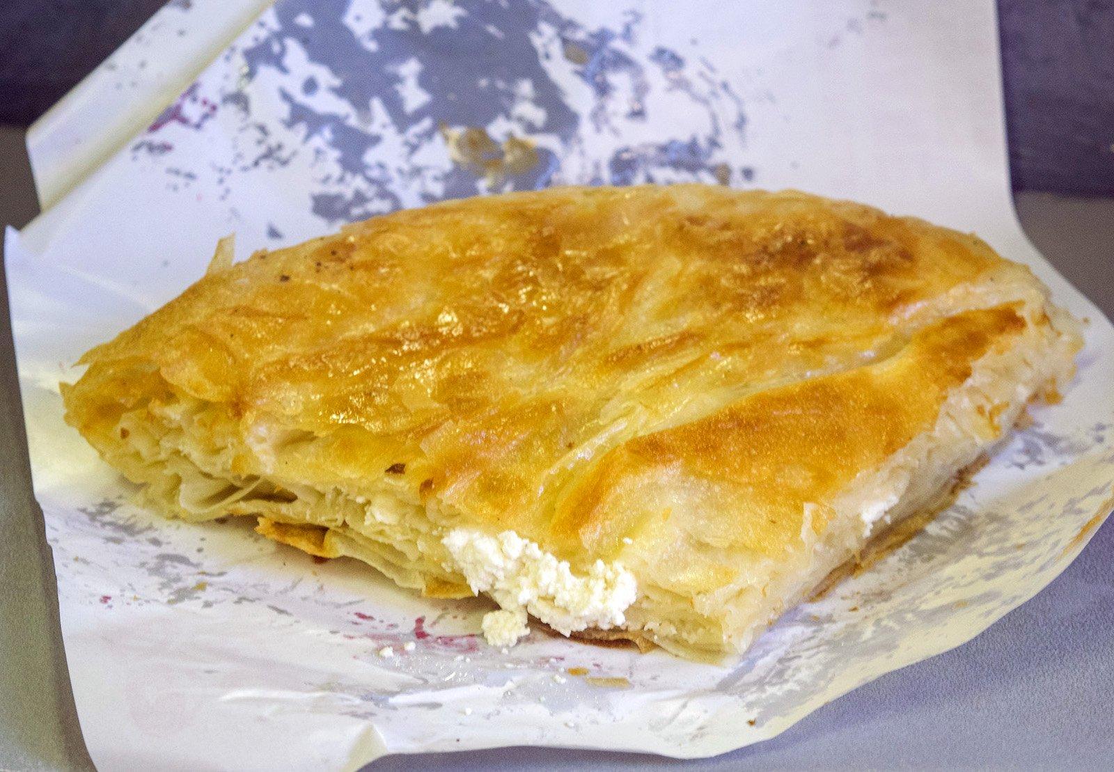 Serbian Food - Top Serbian Dishes to Try in Belgrade - Burek © Bojan Rantaša / Flickr