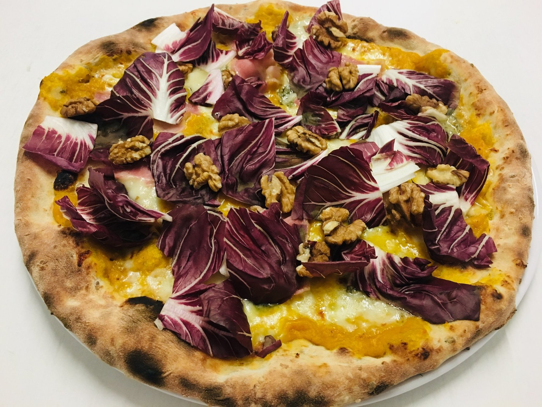 One of the specialty pizza's at Capriccio