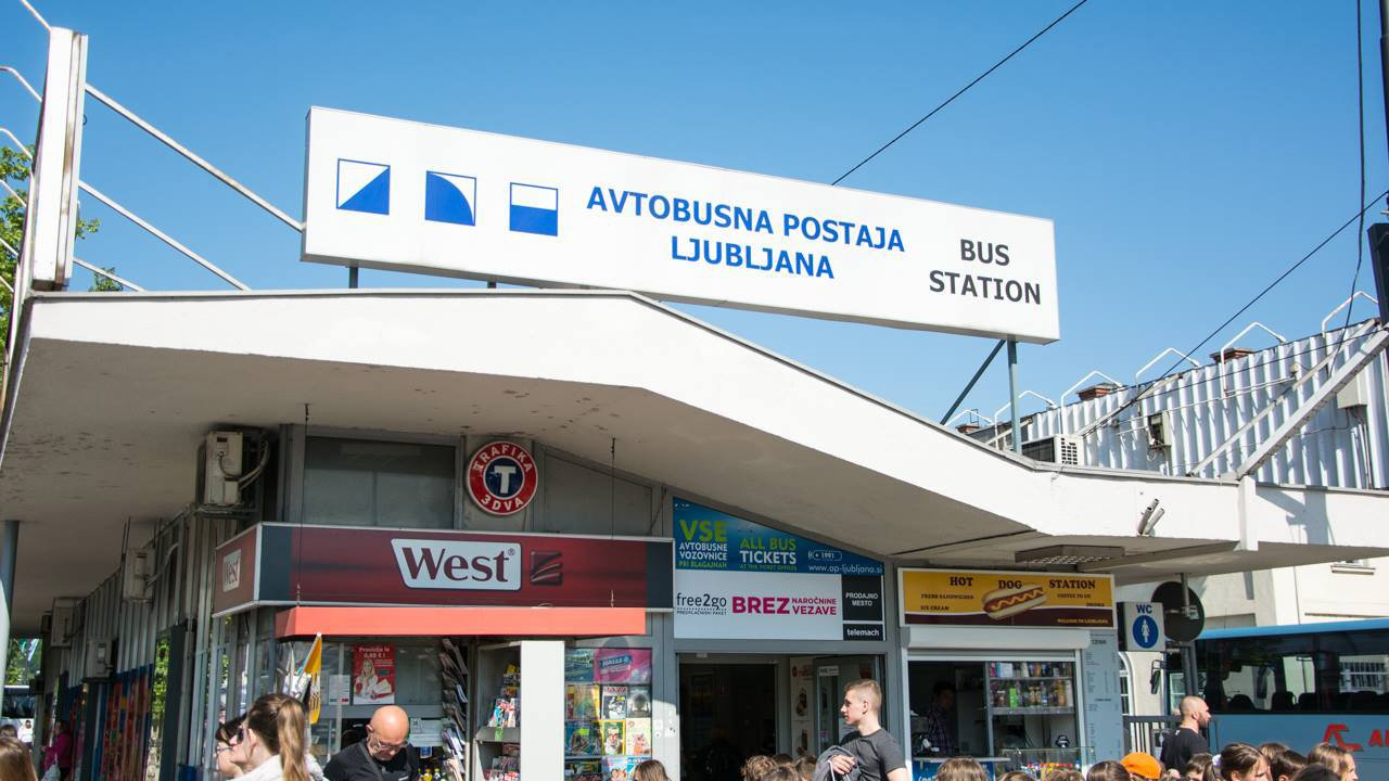 Bus from Ljubljana to Bled - Ljubljana Main Bus Station