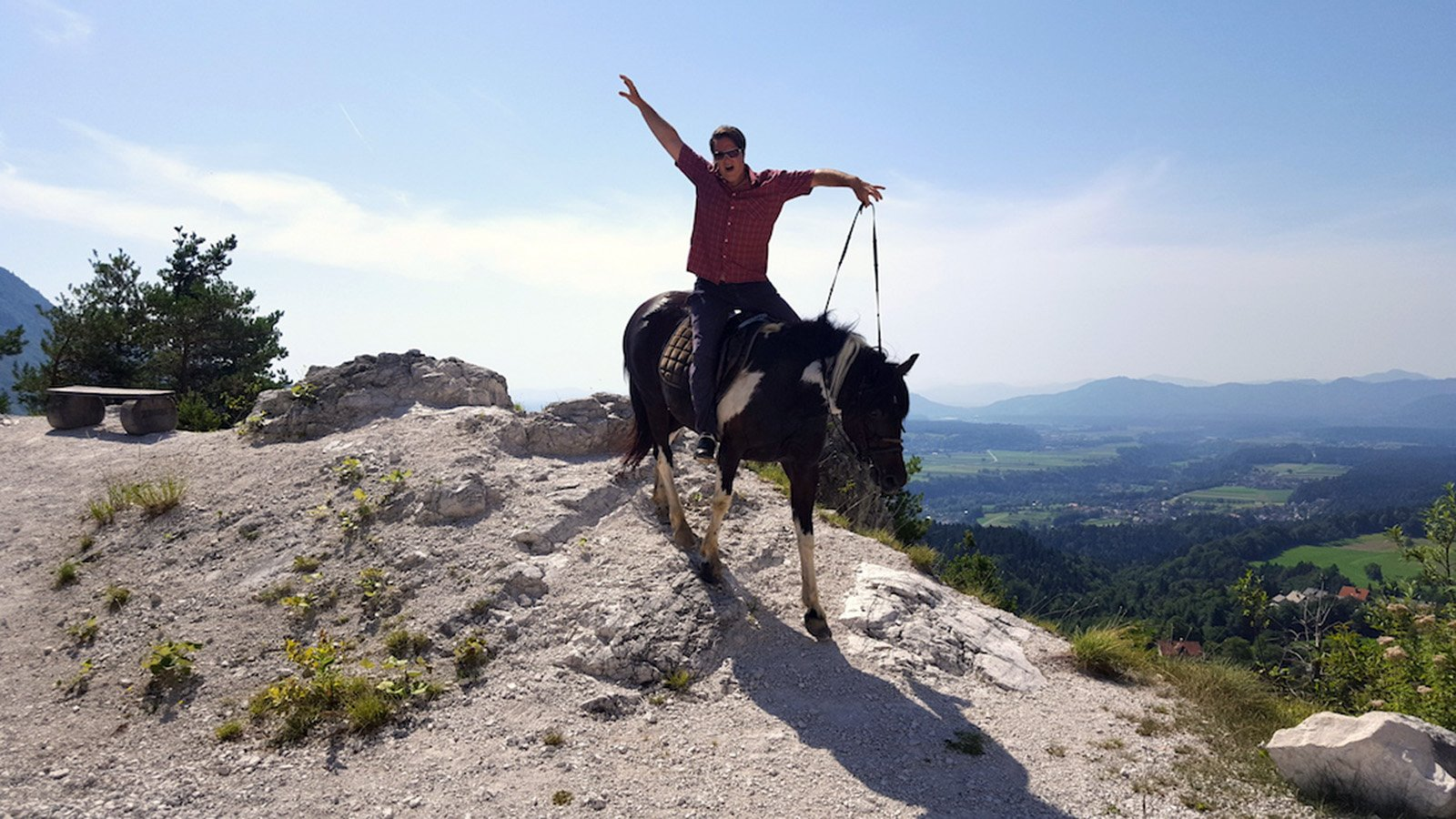 Getting from Ljubljana to Bled by Horse © www.sloveniahorseriding.com