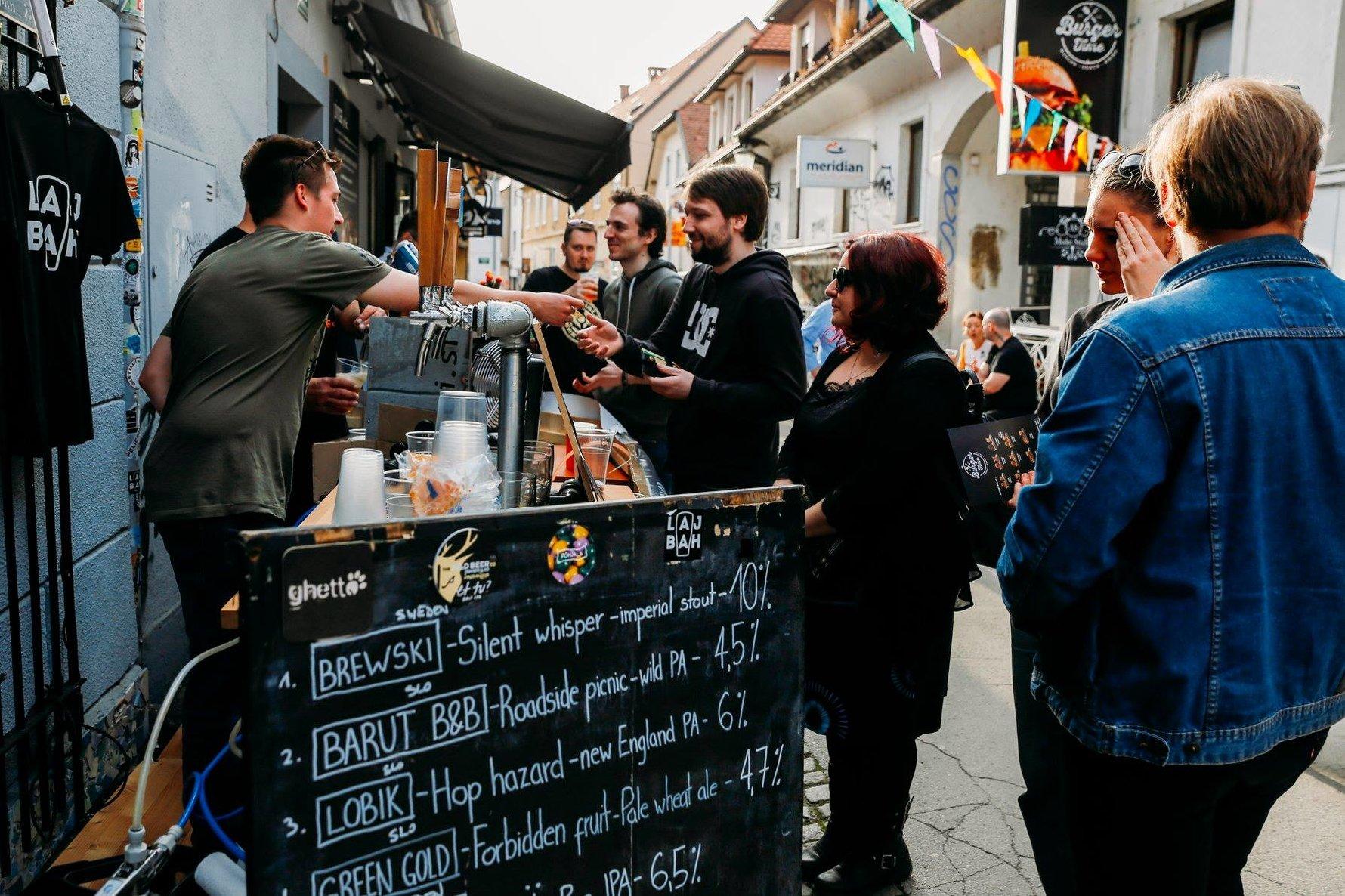 Craft beer in Ljubljana - Že V Redu Primož