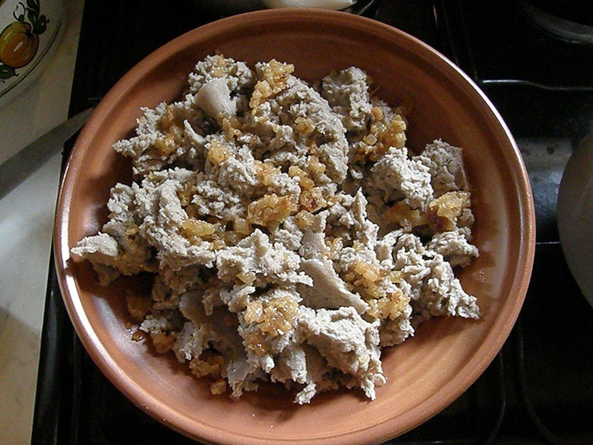 Ajdovi žganci / Buckwheat porridge
