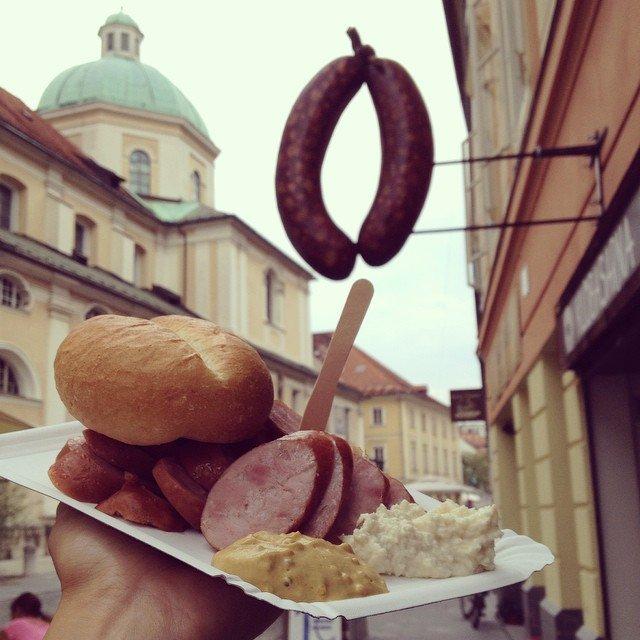 Klobasarna, Ljubljana