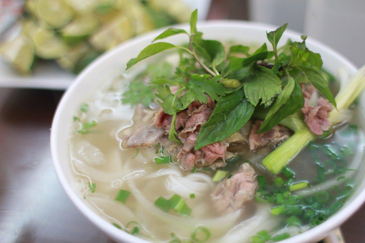Yuri Barron Interview - Vietnamese Pho Soup © mhywin (pixabay.com)