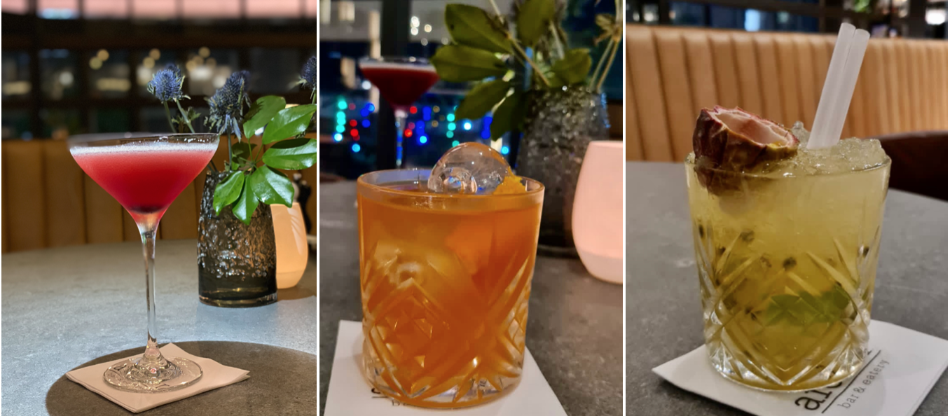 Cocktails at Archer Bar and Eatery