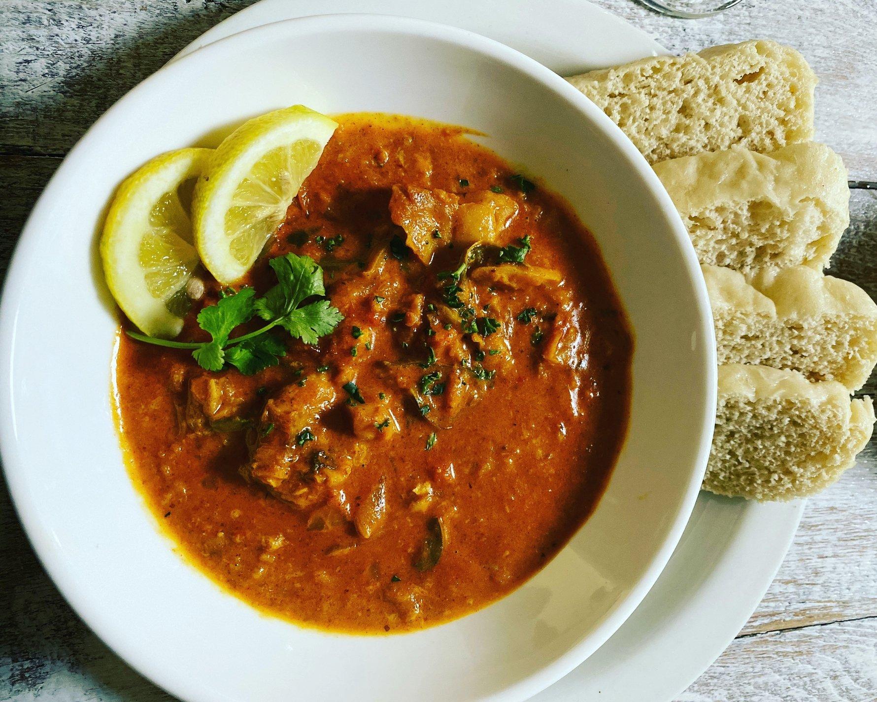 Cape Malay Fish Curry at Thunder Walker