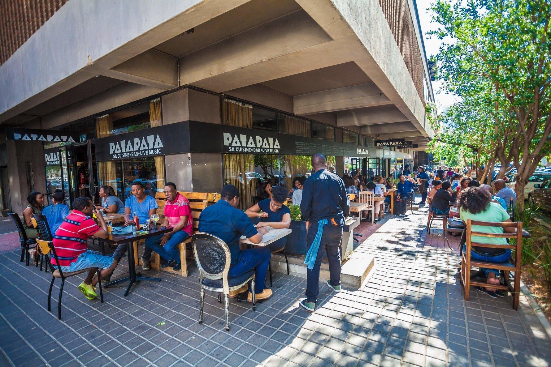 Maboneng's Pata Pata restaurant