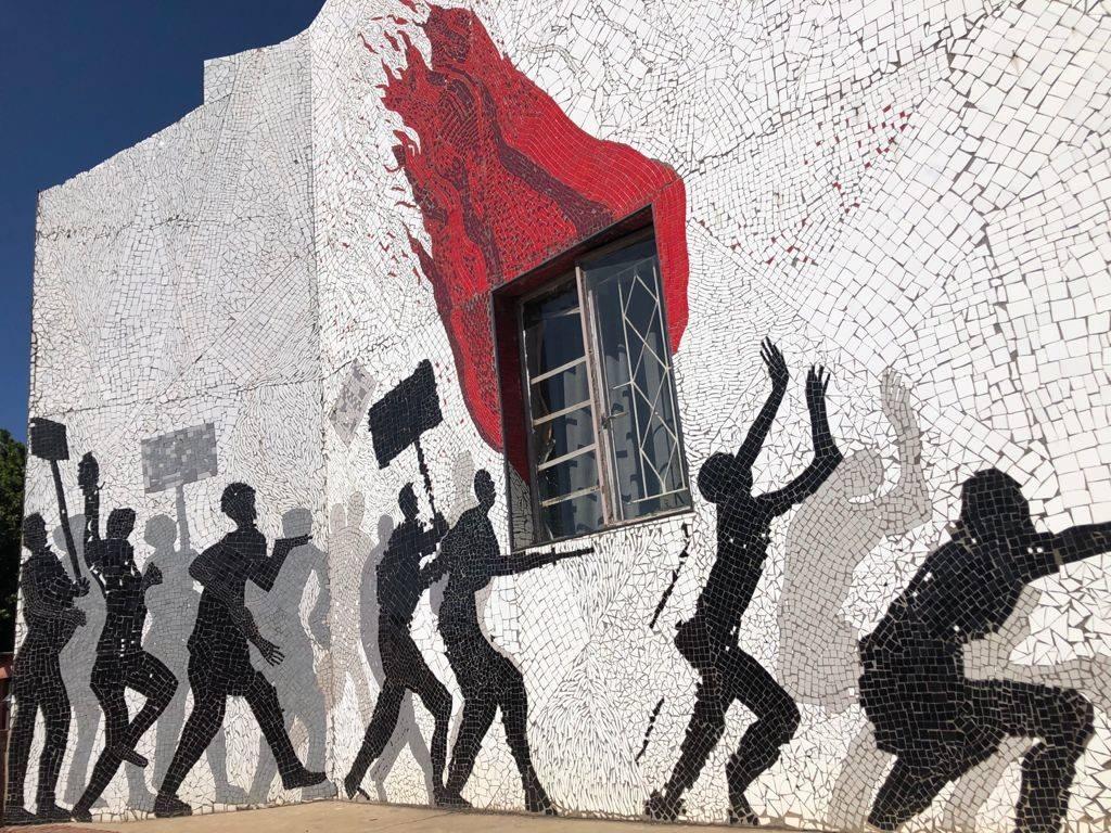 Troyeville mosaic - Rand Revolt