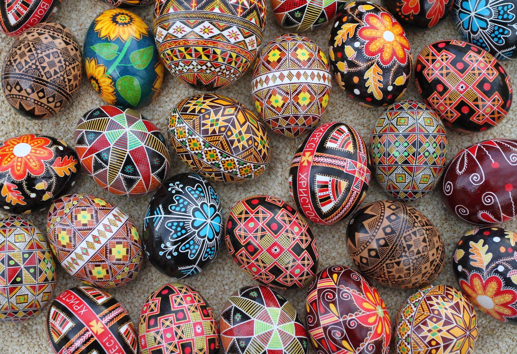 Pysanky, Orthodox Easter Eggs © Luba Petrusha / CC