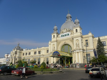 Arriving in Lviv