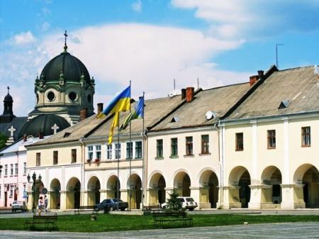 Zhovkva castle
